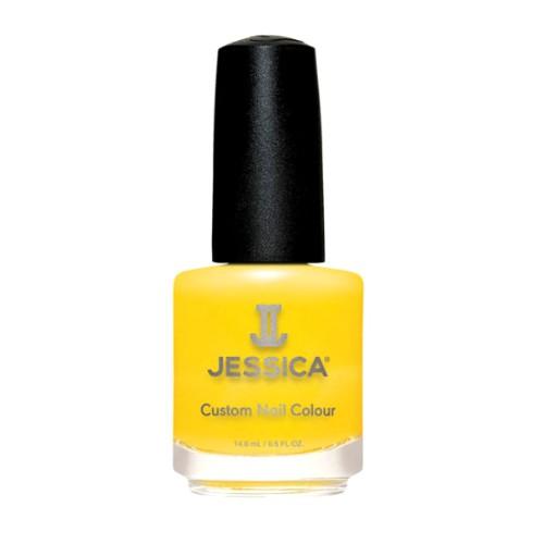 Lac de Unghii - Jessica Custom Nail Colour 1140 Yellow, 14.8ml imagine produs