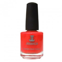 Lac de Unghii - Jessica Custom Nail Colour 225 Confident Coral, 14.8ml