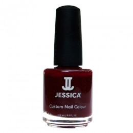 Lac de Unghii - Jessica Custom Nail Colour 441 Midnight Merlot, 14.8ml