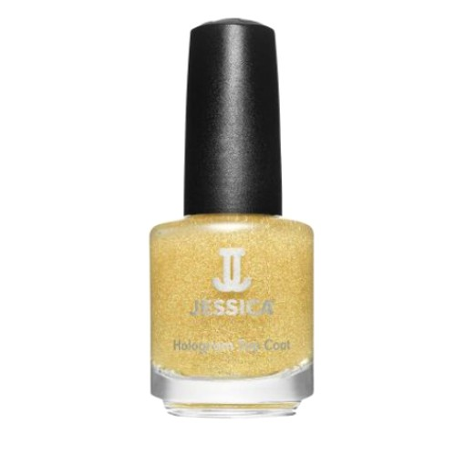 Lac de Unghii - Jessica Custom Nail Colour 600 Hologram Gold, 14.8ml imagine produs