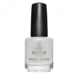 Lac de Unghii - Jessica Custom Nail Colour 601 Hologram Silver, 14.8ml