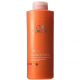 Balsam pentru Par cu Structura Puternica - Wella Professionals Enrich Moisturizing Conditioner 1000 ml