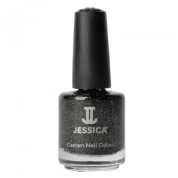Lac de Unghii - Jessica Custom Nail Colour 645 Black Ice, 14.8ml