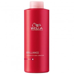 Balsam pentru Par Vopsit cu Structura Puternica - Wella Professionals Brilliance Conditioner 1000 ml