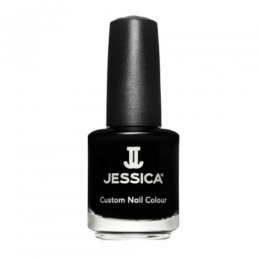 Lac de Unghii - Jessica Custom Nail Colour 758 Black Lustre, 14.8ml
