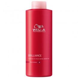 Balsam Pentru Par Fin Sau Normal Vopsit Wella Professionals Brilliance Conditioner 1000 Ml