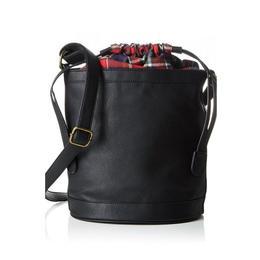 Geanta Bucket Vero Moda, Din Piele Ecologica Si Material Textil, Negru