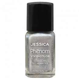 Lac de Unghii - Jessica Phenom Vivid Colour 043 Antique Silver, 15ml
