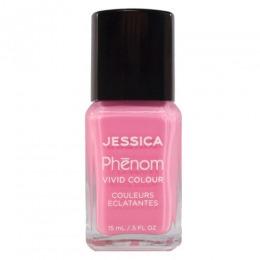 Lac de Unghii - Jessica Phenom Vivid Colour 040 Electro Pink, 15ml