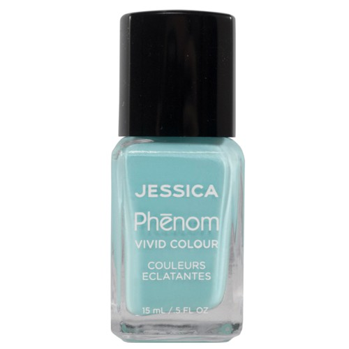 Lac de Unghii - Jessica Phenom Vivid Colour 041 Celestial Blue, 15ml poza