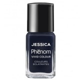 Lac de Unghii - Jessica Phenom Vivid Colour 010 Blue Blooded, 15ml
