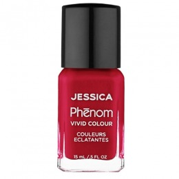 Lac de Unghii - Jessica Phenom Vivid Colour 019 Parisian Passion, 15ml