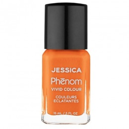 Lac de Unghii - Jessica Phenom Vivid Colour 025 Tahitian Sunset, 15ml