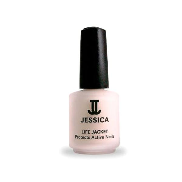Tratament Unghii Active - Jessica Life Jacket Basecoat for Active Nails, 14.8ml imagine produs