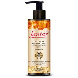 Crema de Maini Nutritiva cu Chihlimbar si Aur - Farmona Jantar Nourishing Hand Cream with Amber Essence and Gold, 100ml