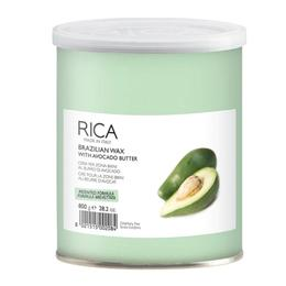 Ceara Epilatoare Braziliana cu Unt de Avocado - RICA Brazilian Wax with Avocado Butter, 800ml