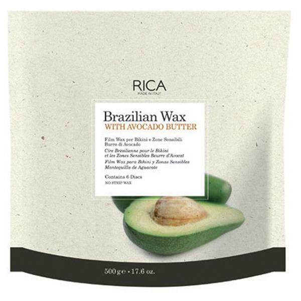 Discuri Ceara Epilatoare Braziliana cu Unt de Avocado - RICA Brazilian Wax with Avocado Butter