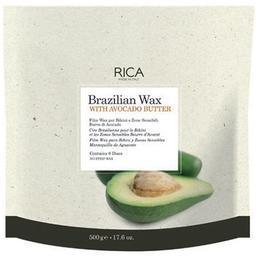 Discuri Ceara Epilatoare Braziliana cu Unt de Avocado - RICA Brazilian Wax with Avocado Butter, 500g