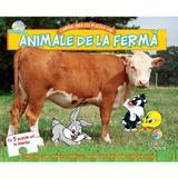 Cartea mea cu puzzle-uri, animale de la ferma editura Corint