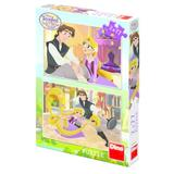 Puzzle 2 in 1 - Tangled (77 piese)