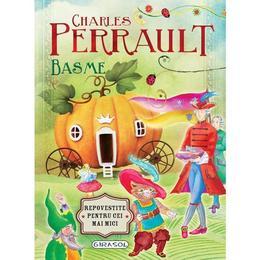 Basme de Charles Perrault, editura Girasol