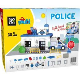 Joc de constructie Mubi - Sectia de politie (38 piese)