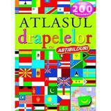 Atlasul drapelelor cu abtibilduri, editura Girasol