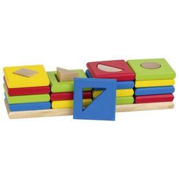 Joc de indemanare si sortare forme si culori - 16 piese - Goki