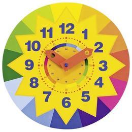 Ceasul de lemn cu soare - invata sa citesti ceasul