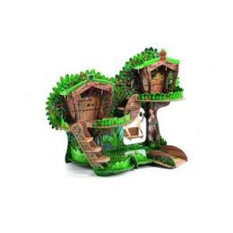 Puzzle - Macheta 3D - Casuta din copac