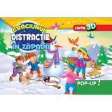 Pop-up 3D: Craciunul. Distractie in zapada, editura Aramis
