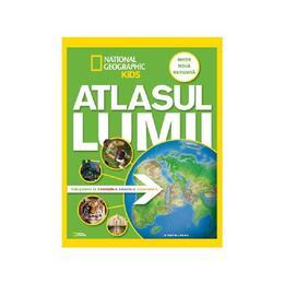 Atlasul lumii pentru tineri exploratori. National Geographic Kids, editura Litera