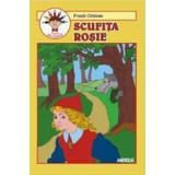 Scufita Rosie - Fratii Grimm (carte de colorat), editura Andreas