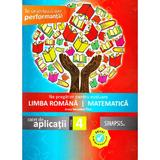 Ne pregatim pentru evaluare - Clasa 4 - Romana. Matematica - Anca Veronica Taut, editura Sinapsis