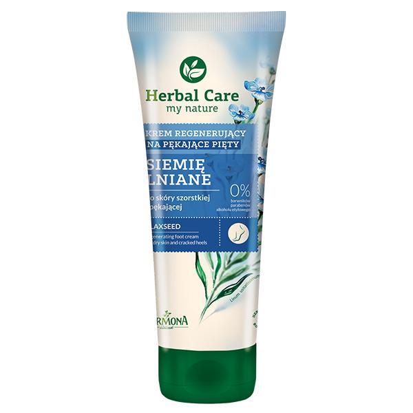 Crema Regeneratoare pentru Picioare cu Extract de Seminte de In - Farmona Herbal Care Flaxseed Regenerating Foot Cream, 100ml imagine produs