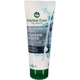 Crema Hidratanta pentru Picioare cu Extract de Menta Neagra - Farmona Herbal Care Black Mint 3 in 1 Hydrating Foot Cream, 100ml