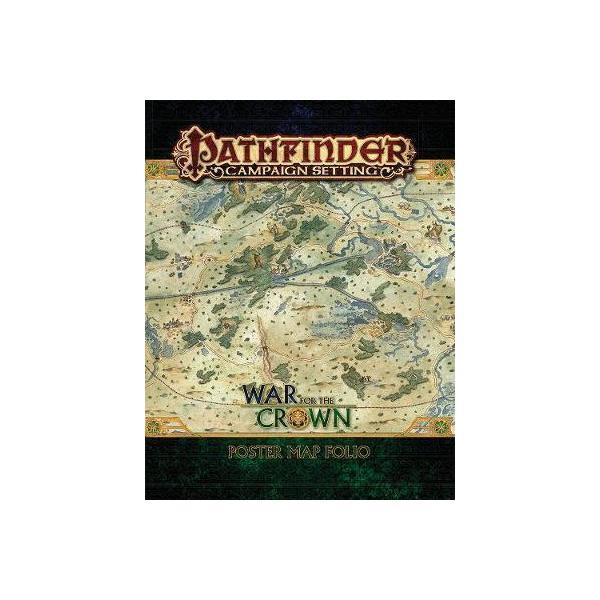 Pathfinder Campaign Setting: War for the Crown Poster Map Fo