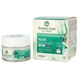 Crema Hidratanta de Zi/Noapte cu Aloe - Farmona Herbal Care Aloe Moisturizing Cream Day/Night, 50ml