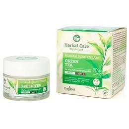 Crema Normalizatoare de Zi/Noapte cu Ceai Verde - Farmona Herbal Care Green Tea Normalising Cream Day/Night, 50ml