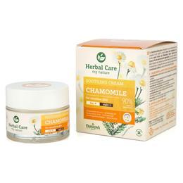 Crema Calmanta de Zi/Noapte cu Musetel - Farmona Herbal Care Chamomile Soothing Cream Day/Night, 50ml