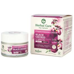Crema Fortifianta de Zi/Noapte cu Orhidee Neagra - Farmona Herbal Care Black Orchid Strengthening Cream Day/Night, 50ml