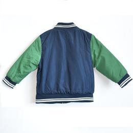 Geaca fas baieti, primavara-toamna, Losan, 6-7 ani sau 122 cm, bleumarin cu verde