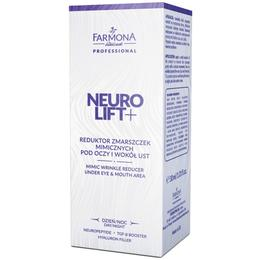 Reductor de Riduri de Expresie pentru Zona Ochilor si a Gurii - Farmona Neuro Lift+ Mimic Wrinkle Reducer Under Eye & Mouth Area, 30ml