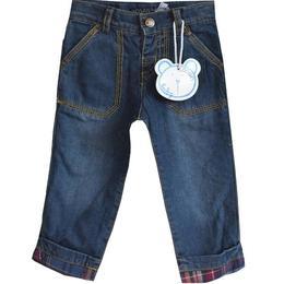 Pantalon blug toamna-iarna, dublat cu bumbac pe interior, Losan, 6-9 luni sau 71 cm