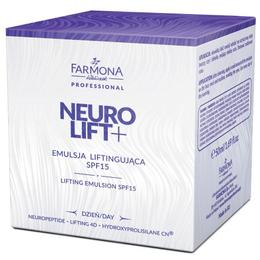 Emulsie Lifting de Zi SPF 15 - Farmona Neuro Lift+ Day Lifting Emulsion SPF 15, 50ml