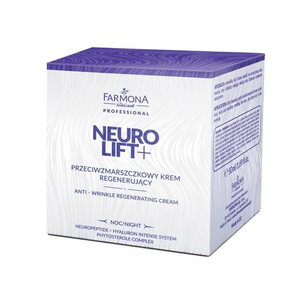 Crema Antirid Regeneranta de Noapte - Farmona Neuro Lift+ Night Anti-Wrinkle Regenerating Cream, 50ml imagine produs