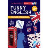 Funny English 13 ani+ Jocuri si enigme (Larousse) - Sandra Lebrun, editura Niculescu