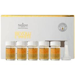 Tratament de Noapte cu Vitamina C pentru Reducerea Petelor – Farmona Revolu C-White Night Time Treatment with Vitamin C, 5 x 5ml de la esteto.ro