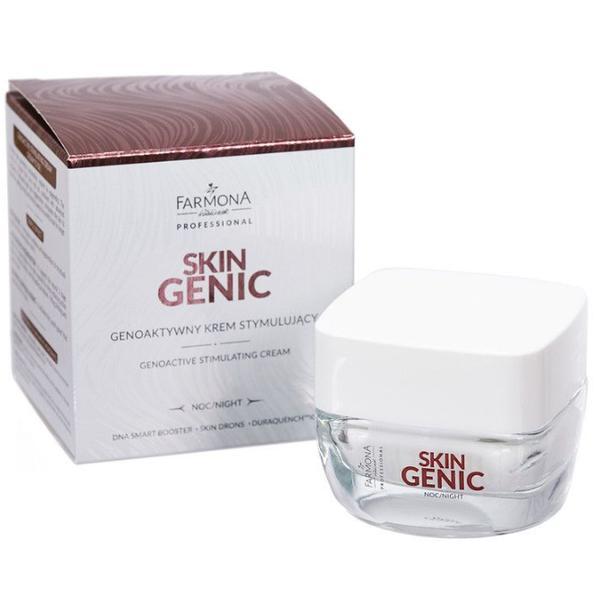 Crema Genoactiva Stimulatoare de Noapte - Farmona Skin Genic Genoactive Stimulating Cream, 50ml poza