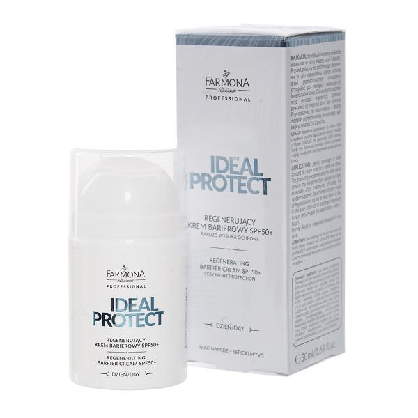 Crema Bariera Regeneratoare SPF 50+ - Farmona Ideal Protect Regenerating Barrier Cream SPF 50+, 50ml imagine produs